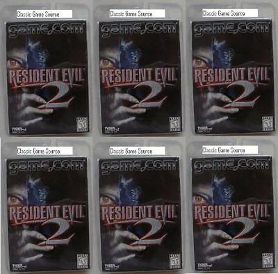 6 Lot Resident Evil 2 Game Tiger Game.com Wholesale New