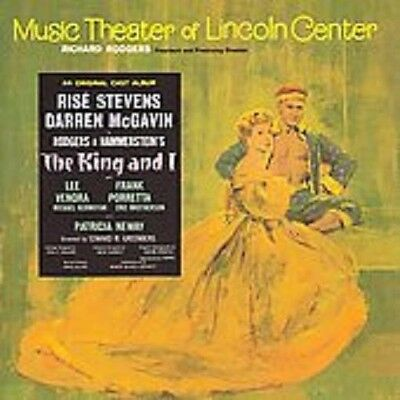The King and I - Original Cast CD LINCOLN CENTER