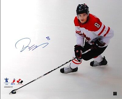 Drew Doughty Signed 16x20 Team Canada White
