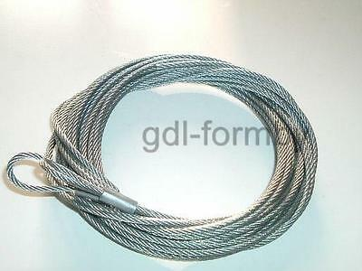 NEW FILUMA BOLTON GATE Sectional CABLES Wires 3mm Garage Door Over 13ft Repair
