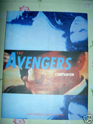 The AVENGERS COMPANION. DELUXE 200 PAGES coffee table format.STEED,Mrs PEEL.1998