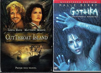 Cutthroat Island (O-Card Packaging) & Gothika - 2 DVDs