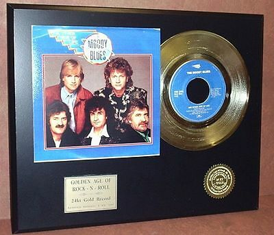 Moody Blues - The Other Side of Life 24k Gold Record Display - Free USA Shipping