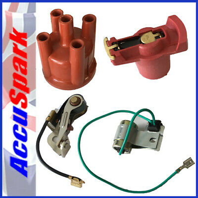 Bosch Points,condenser,Rotor,cap, for FORD PINTO