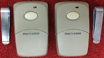Multi-Code 3089 2-Pack MultiCode 308911 Linear MCS308911 Garage Gate Remote 300m