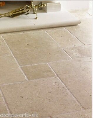 Sample of TUMBLED Classic Travertine Wall & Floor Tiles