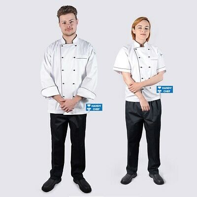 Chef Jacket + Chef Pant - See Ebay store for Quality Chef Aprons, Chef Caps.,,