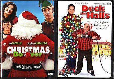 Christmas Do-Over (DVD, 2007) & Deck The Halls - 2 DVDs