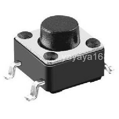 100PCS Tact Switch Micro Switchs PUSH Button 4.5x4.5 SW