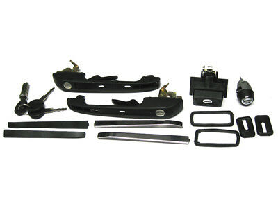 Vw Golf Ii 2 Mk2 83-91 Door Tailgate Lock Handle Complete Set New