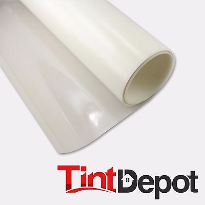 """Decorative Tint White Matte Window Privacy Film 60""""x20' Clear Frost Film"""