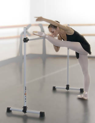 Ballet Barre B48 Portable 4ft Single Bar - Stretch/Dance Bar - Vita Vibe NEW