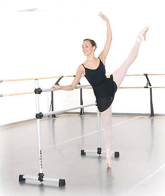 Ballet Barre BD96 Portable 8ft DOUBLE Bar - Stretch/Dance Bar - Vita Vibe NEW