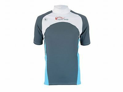 Aqualung Rash Guard IceSpirit Kurzarm, UV-Schutz Lycra Shirt, UV-Shirt