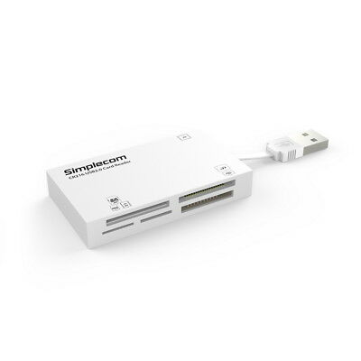 USB 2.0 All in One Multi Memory Card Reader TF MS M2 CF XD Micro SD HC WHITE