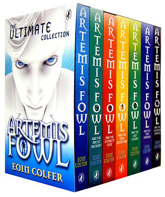 Eoin Colfer Series 7 Books Young Adult Collection Paperback By Artemis Fowl