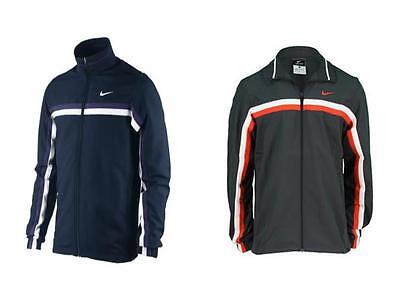 Mens Nike Competition Striped Tennis Jacket Blue Grey Red New XS and S