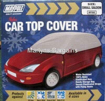 Car Top Cover to protect against Snow, Dust, Rain etc.Small Car Nylon Top Cover.