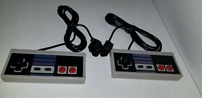 Two Lot New 10Ft Controllers For Nes 8 Bit Nintendo System Console Control Pad