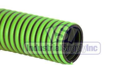 """1-1/2"""" x 20' EPDM Rubber Trash Pump Water Suction Hose w/o Fittings"""