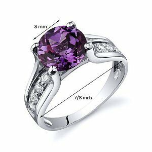 2.75Ctw Alexandrite Engagement Ring Sz 7 Sz 8 Sz 9 + Gift See Store For All  >>>