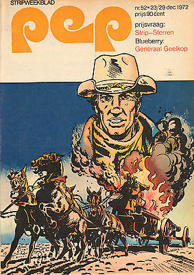 PEP 1972  nr. 52 - ALICE COOPER / BLUEBERRY (COVER) / VARIOUS COMICS