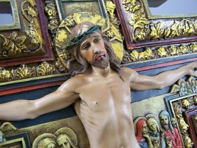 NEW! 6 Inch San Damiano Cross Jesus Crucified Crucifix Wall Cross Church Gift