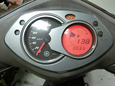 Second Hand Yamaha NXC125 CYGNUS Scooter Instrument Cluster