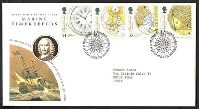 1993 Gb Fdc Marine Timekeepers - 003