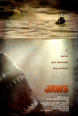 Jaws - A3 Film Poster - FREE UK DELIVERY