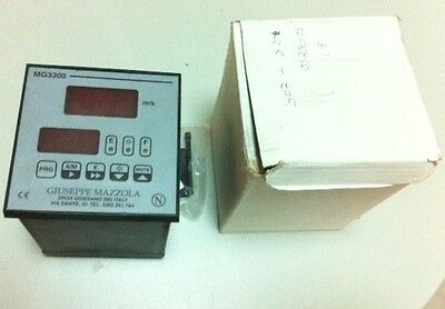 Mazzola Mg3300 Air Flow Controller