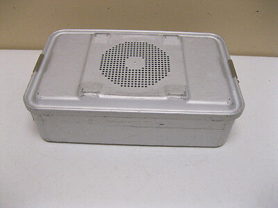 """USED AESCULAP STERILIZATION DBP CASE CONTAINER  78532 17"""" x 10-3/4"""" x 3-1/2"""""""