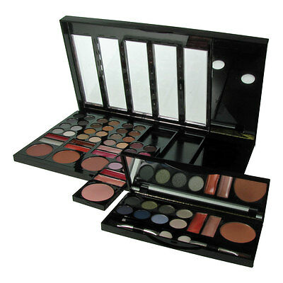 W7 Halloween Makeup Palette Eyeshadow Beauty on the Go Colours Detachable 55pc