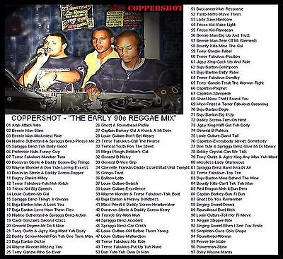 Coppershot Early 90'S Dancehall Mix Cd