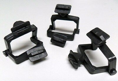 New Dental Lab Mini Plastic Disposable Crown & Bridge Articulators 100Pc Black