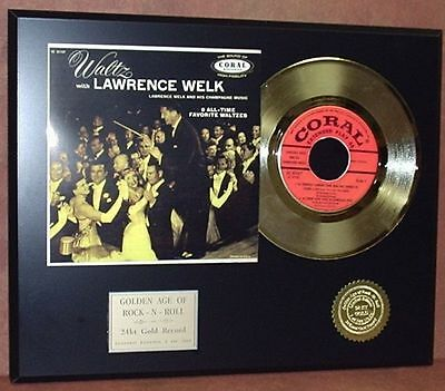 Waltz With Lawrence Welk - 24k Gold Record Limited Edition - Free USA Shipping