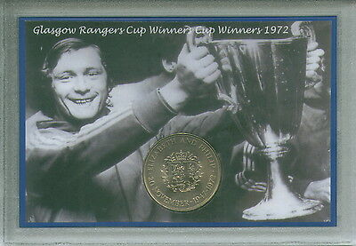Glasgow Rangers RFC The Gers European Cup Winners Final Retro Coin Gift Set 1972