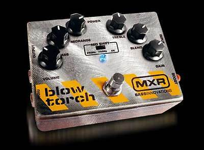 Dunlop MXR  BlowTorch M181 Bass Guitar Effect Pedal****FREE CABLE!!!!!!!!