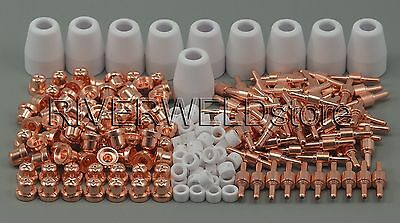 PT-31 LG-40 Plasma Tip Nozzle Electrode Cutting Consumable CT-312 CUT-40D 235pcs