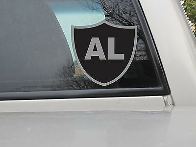 Oakland Raiders Al Davis Tribute Stickers Vinyl Decal NFL Football Var Sizes