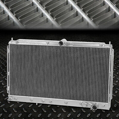 Dual Core Full Aluminum Race 2-Row Cooling Radiator 91-99 3000Gt/ 91-96 Stealth