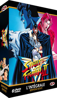 ★ Street Fighter II V ★  Intégrale Gold (Série TV) - 6 DVD