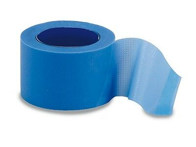 Blue Visually Detectable Waterproof Tape - 2.5cm x 5m  Food Catering First Aid