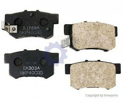 For Accura CL Integra RSX TSX Honda Civic Prelude Rear Disc Brake Pad New