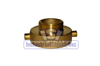 "Fire Hydrant Adapter 2-1/2"" NST(F) x 1-1/2"" NST(M)"