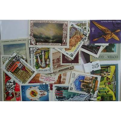 Russia used issues. 50 stamps, all different (245)