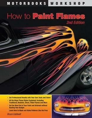 How To Paint Flames ghost tribal airbrush masking tools scallops finishing tape