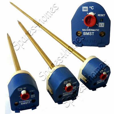 """7"""" 11"""" And 18"""" Immersion Heater Thermostat With Reset Backer BEAB Approved"""