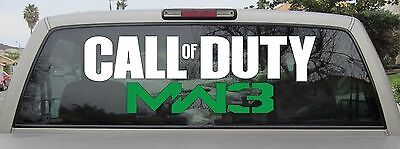 Call of Duty Modern Warfare 3 Vinyl Sticker - Decal in Various Sizes and Colors
