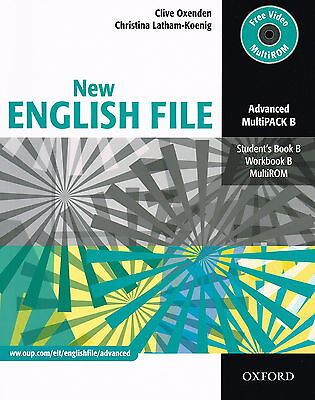 Oxford NEW ENGLISH FILE Advanced MultiPACK B @NEW BOOK@ 9780194595858
